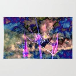Floral Cloud Drama Rug