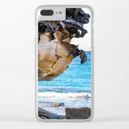 Overhang. Bronte Beach. Sydney. Australia. Clear iPhone Case