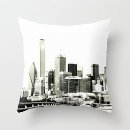 The Dallas storyline Throw Pillow