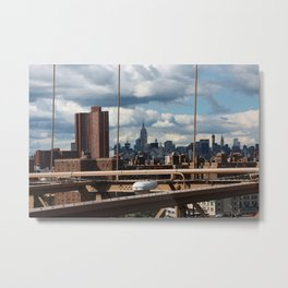 new york city ... manhattan view VII Metal Print