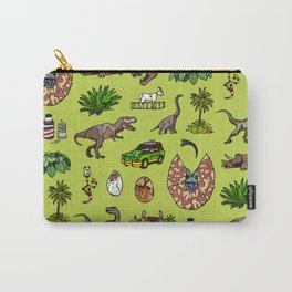 Jurassic pattern lighter Carry-All Pouch