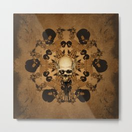 Awesome skull Metal Print