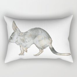 Investigative Bilby Rectangular Pillow