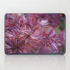 purple pine iPad Case