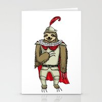 sloth Stationery Cards featuring Sloth  by Artifact Supply