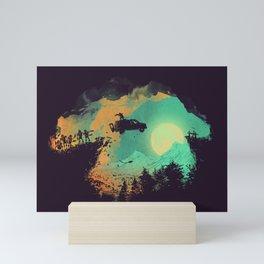 Leap of Faith Mini Art Print
