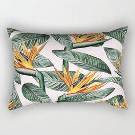 Bird Of Paradise Pattern #society6 #decor #buyart Rectangular Pillow