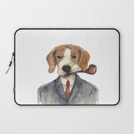Monsieur Beagle Laptop Sleeve