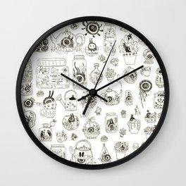 Terrariums Wall Clock