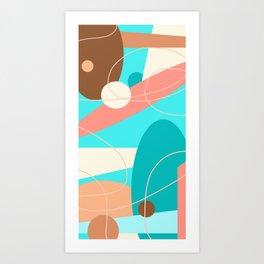 Geometry in Motion Art Print