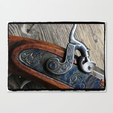 BlackPowder Canvas Print