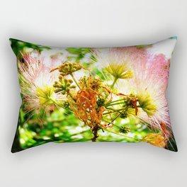 Mimosa Flower Rectangular Pillow