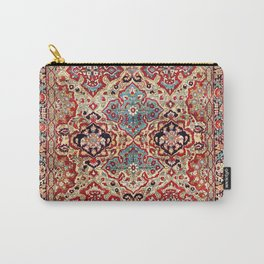 Esfahan Central Persian Rug Print Carry-All Pouch