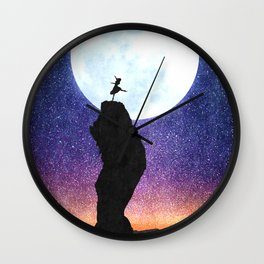 A Dance for the Moon Wall Clock