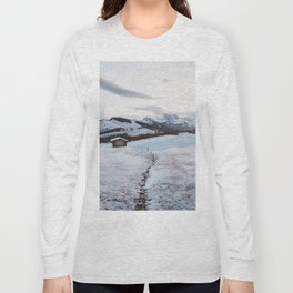 Alpine morning - Landscape and Nature Photography Long Sleeve T-shirt
