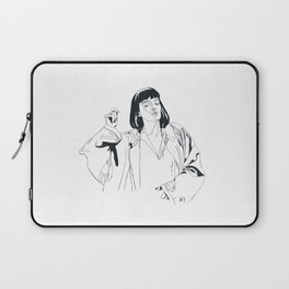 i fucking love this song Laptop Sleeve
