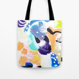 Abstract Happyness Tote Bag