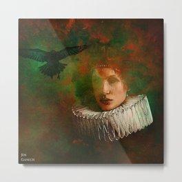 countess of the crow Metal Print