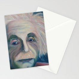 Albert Einstein, Original painting by Lu Stationery Cards