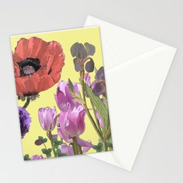 Floral fantasies Stationery Cards