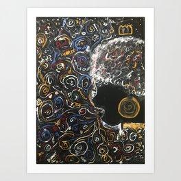 Black Child 1 Art Print