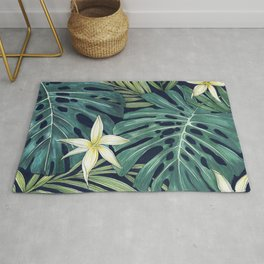 Tropical Midnight Rug