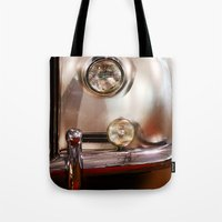silver Tote Bags featuring Silver by Lia Bernini