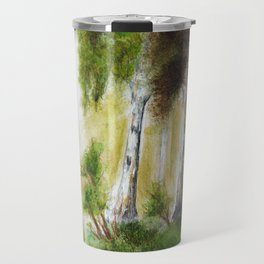 Birch forest Travel Mug
