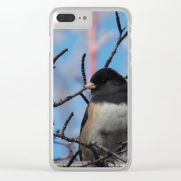 A Feathered Moment Clear iPhone Case