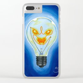 Crazy Ideas Clear iPhone Case