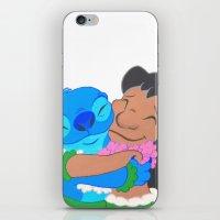 ohana iPhone & iPod Skins featuring Ohana by Deyanna Lambert Art