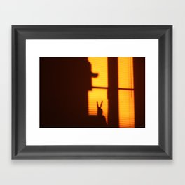 The Window Project Framed Art Print