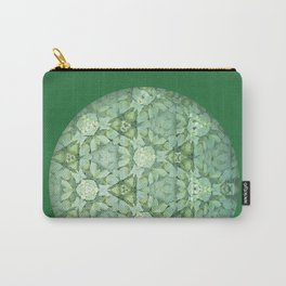 Kaleidoscopic Green Again Carry-All Pouch