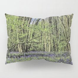 Everdon Stubbs Wood Bluebells Pillow Sham