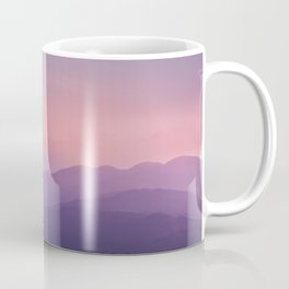 Stunning sunset mountain view Coffee Mug
