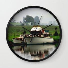 Fog & Reflections Wall Clock