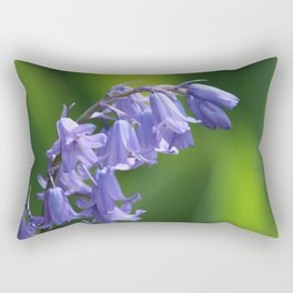 English Bluebells Rectangular Pillow