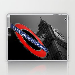 Underground At Westminster London Laptop & iPad Skin