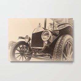 Down A Dusty Road Metal Print