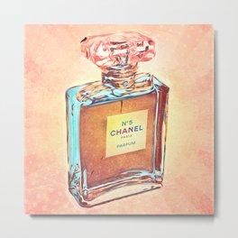 N°5 Eau de Parfum - Paris - Pop Art Metal Print
