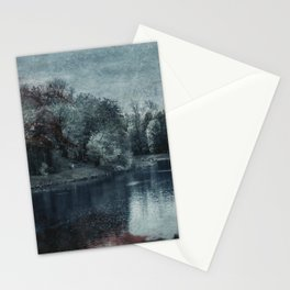 Memory is in blood Stationery Cards