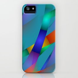 3D abstraction -18- iPhone Case