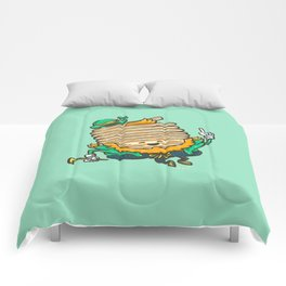 St Patricks Cakes Comforters