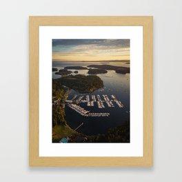 Roche Harbor Framed Art Print
