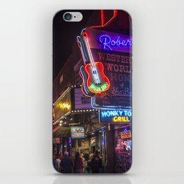 Nights in Nashville iPhone Skin