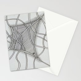 Tangled Net Stationery Cards