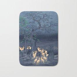 Foxfires at the Changing Tree Bath Mat