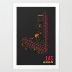 LAS Art Print