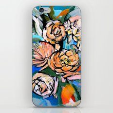 Vibrant Floral iPhone & iPod Skin