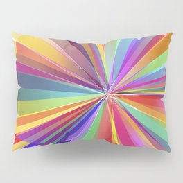 colorful love Pillow Sham